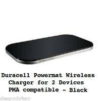 Duracell Powermat Wireless Charger For 2 Devices Pma Compatible Iphones Tablets