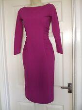 Chiara Boni Pink Womens Cocktail Dress Size UK 8 Party Ladies Occasion Bodycon
