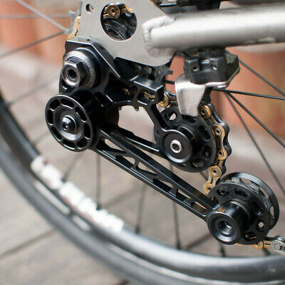 Details about  /Bicycle Chain Tensioner Folding Bike Single Speed Aluminum Alloy Easy Install
