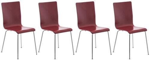 4er Set Besucherstuhl Pepe Konferenzstuhl Küchenstuhl Lehnstuhl Wartezimmerstuhl