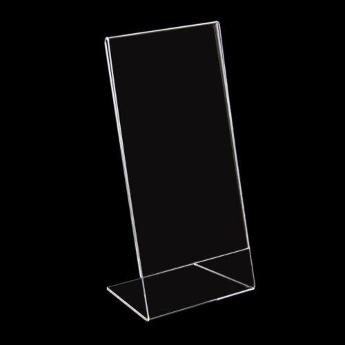 12 x Aufsteller Halter für Preisschilder 10x21cm DIN lang Neu (101046)