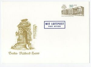 alte-DDR-Ersttagspostkarte-750-Jahre-Berlin-von-1987-Ribbeck-Haus-NEU
