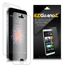 4X EZguardz LCD FULL BODY Screen Protector Skin Cover HD 4X For Apple iPhone SE