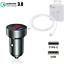 miniature 2 - Voiture Chargeur USB-C Voiture Chargeur Adaptateur TypC Apple iPhone 12 par Max Mini