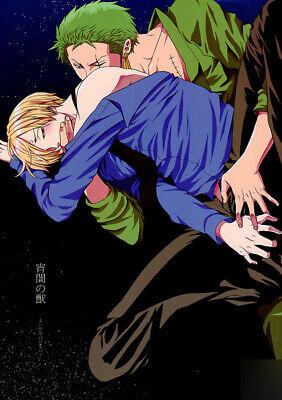 One Piece Doujinshi Comic Book Roronoa Zoro x Sanji ...