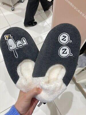 UNIQLO JAPAN NEW Woodstock & Snoopy PEANUTS SNOOPY Room Socks 2pairs