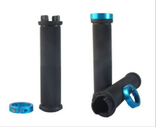 Cycling Bike Bicycle MTB Handlebar Grips Rubber Anti-slip Handle Grip 1Pair