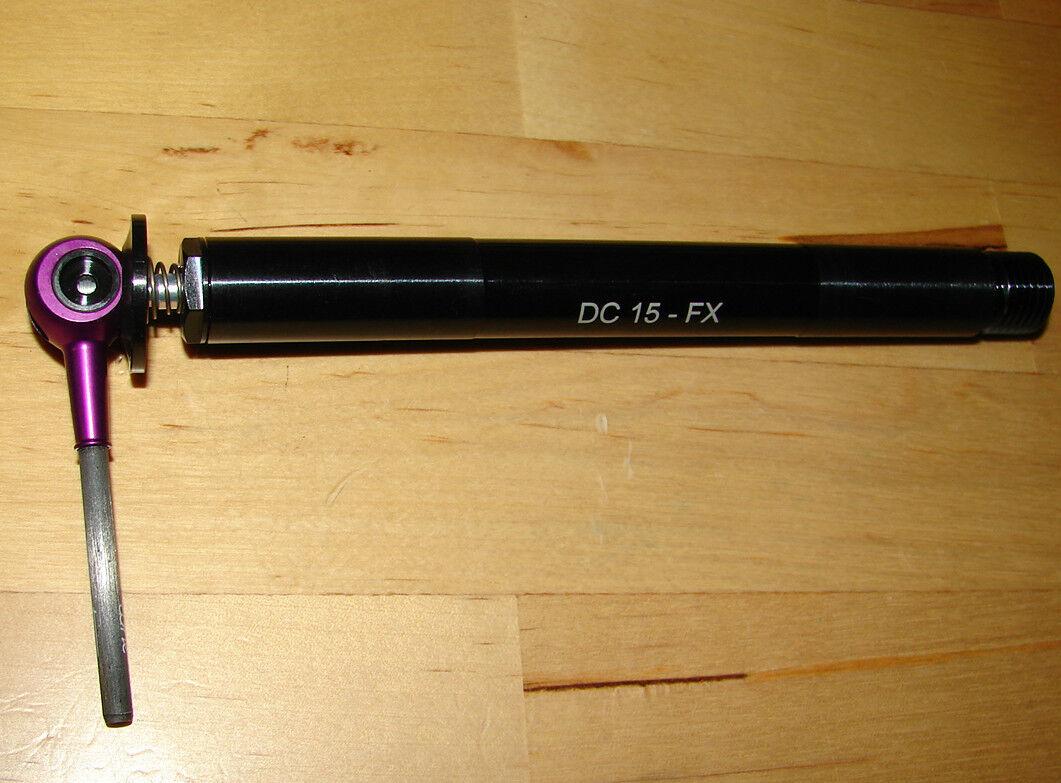 Tune DC 15 cierre rápido plug-eje Fox DT Rock Shox Shox Shox QR FORK Tenedor QR15 ec1b51