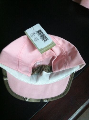 NWT GIRLS PINK CAP W//CAMO TRIM INFANT//TODDLER//YOUTH