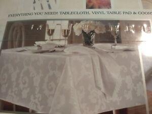Fantastic Details About Brand New 10 Pc Table Set Tablecloth Vinyl Table Pad 8 Napkins 60X84 Oblong Download Free Architecture Designs Momecebritishbridgeorg