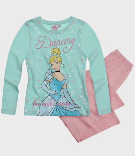 Girls SNOW WHITE//BELLE//CINDERELLA Long Sleeve Pyjama Set 2-8 Yrs Collection 2014