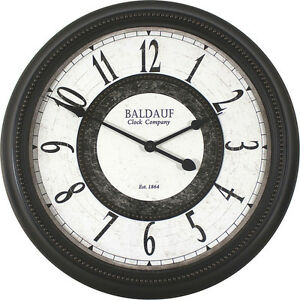 Image Is Loading Baldauf Clock Company Oil Rub Bronze Large 22