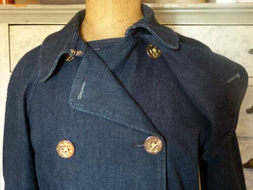 Muy Ralph buen M estado Trench Coat Lauren Jean 40 38 Style P8xqTxF