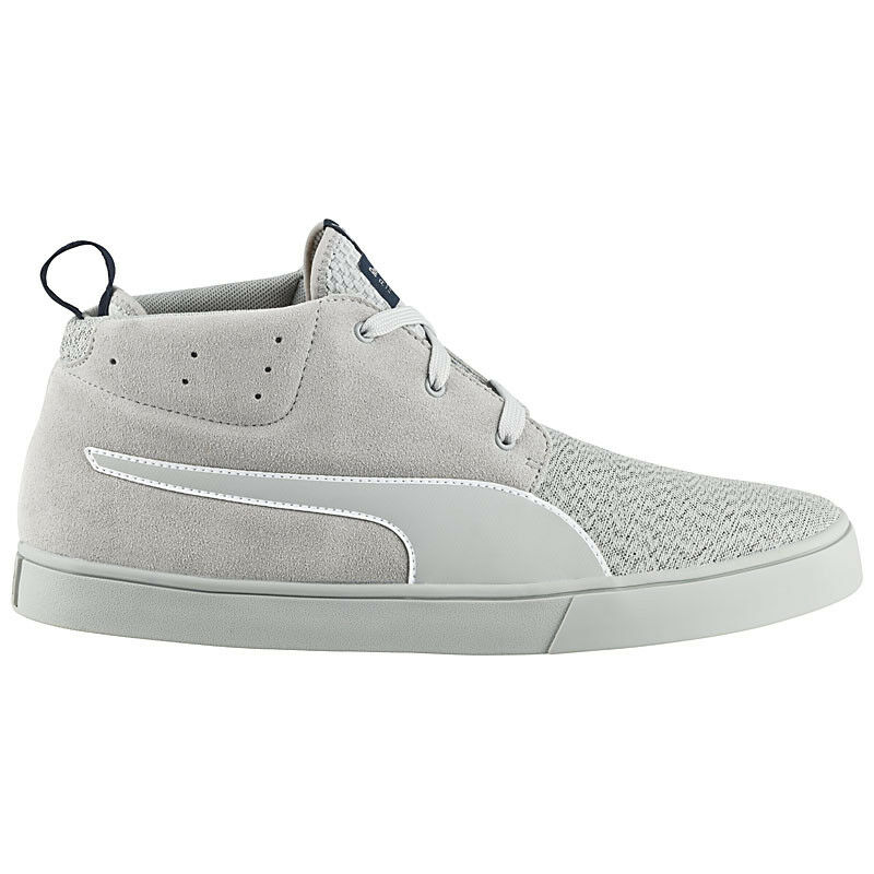 Puma Red Bull Desert Boot Vulc Rbr Men's shoes Sneakers Grey New 305926-02