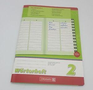 Brunnen 1045997 Wörterheft 2 (A5, 28 Blatt, Lineatur 2, Mit Register)