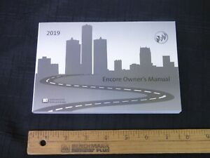 2019-Buick-ENCORE-Car-Owners-Instruction-Manual-Glove-Box-OEM-GM-NEW