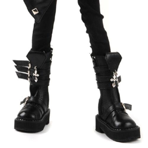Black shoes Storm Cross Boots Dollmore 1//4 BJD Scale Size MSD