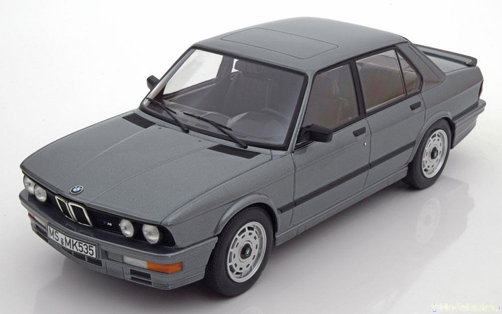 1 18 Norev BMW m535i e28 1986 grismetallic