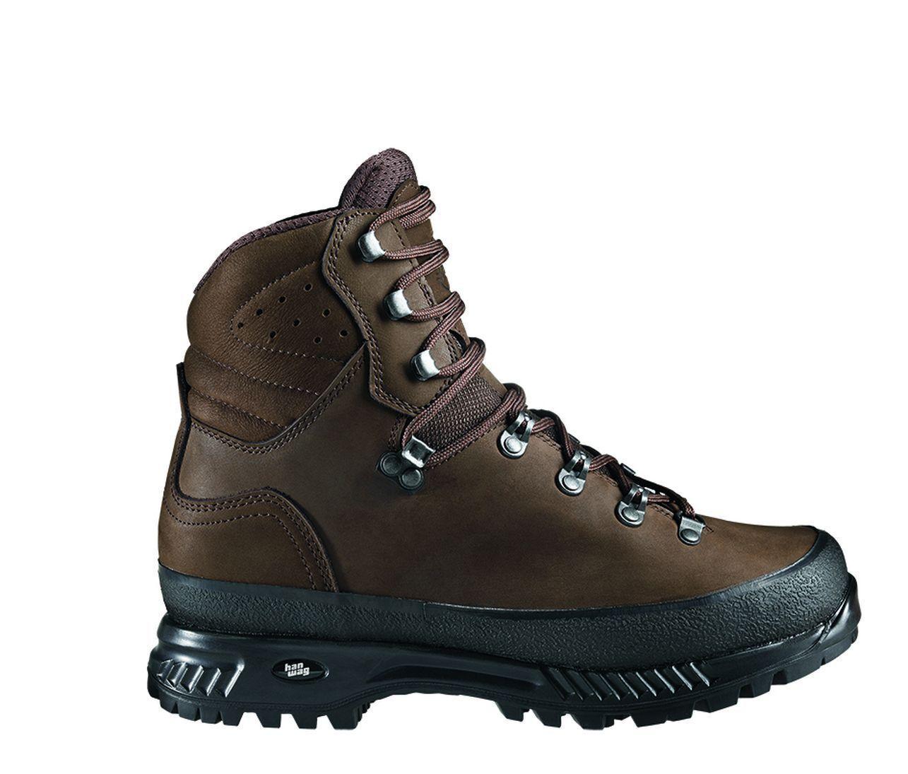 Hanwag Zapatos de Montaña Nazcat Cuero Hombre Tamaño 7,5-41,5 Tierra