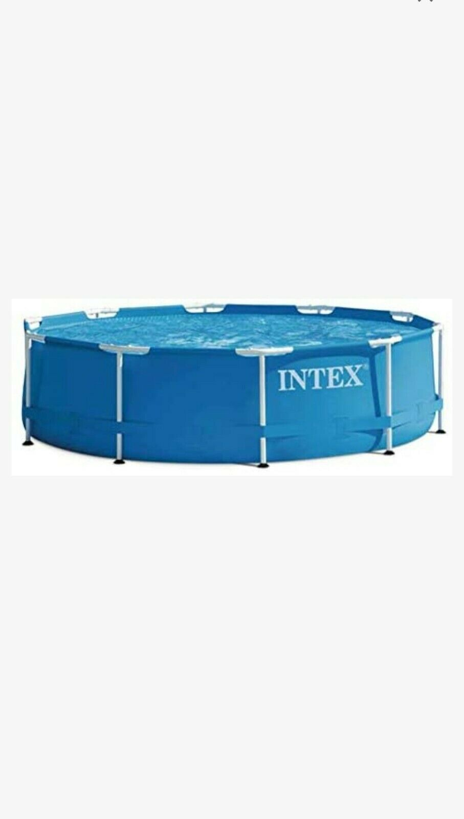 Intex 28202UK 10ft x 30in With Filter Pump, 4500 liters, Blue, 305x76 cm