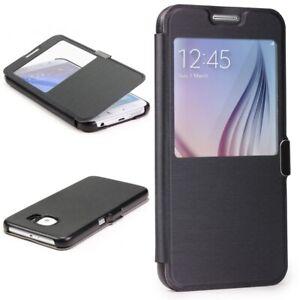 Samsung-galaxy-s6-View-Case-Housse-De-Protection-Fenetre-Cover-Housse-Pour-Telephone-Portable-Wallet