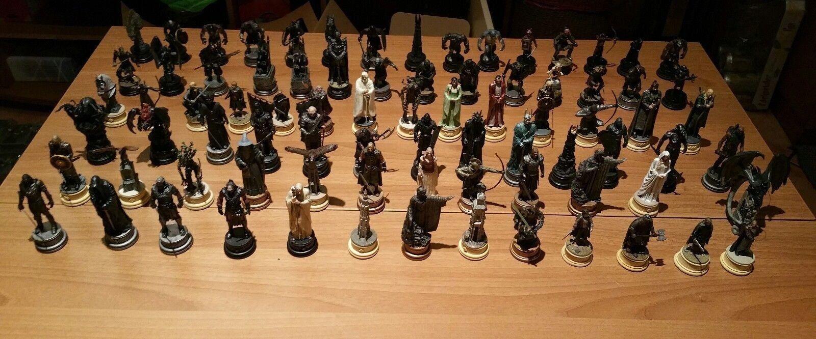 Noël fou fou fou saisir grand concours Eaglemoss Lord Of The Rings Chess 1eb081