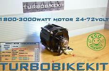Waterproof Turbo Brushless Electric Motor 1800w-3000watt 24volt, 48v,60v, 72volt