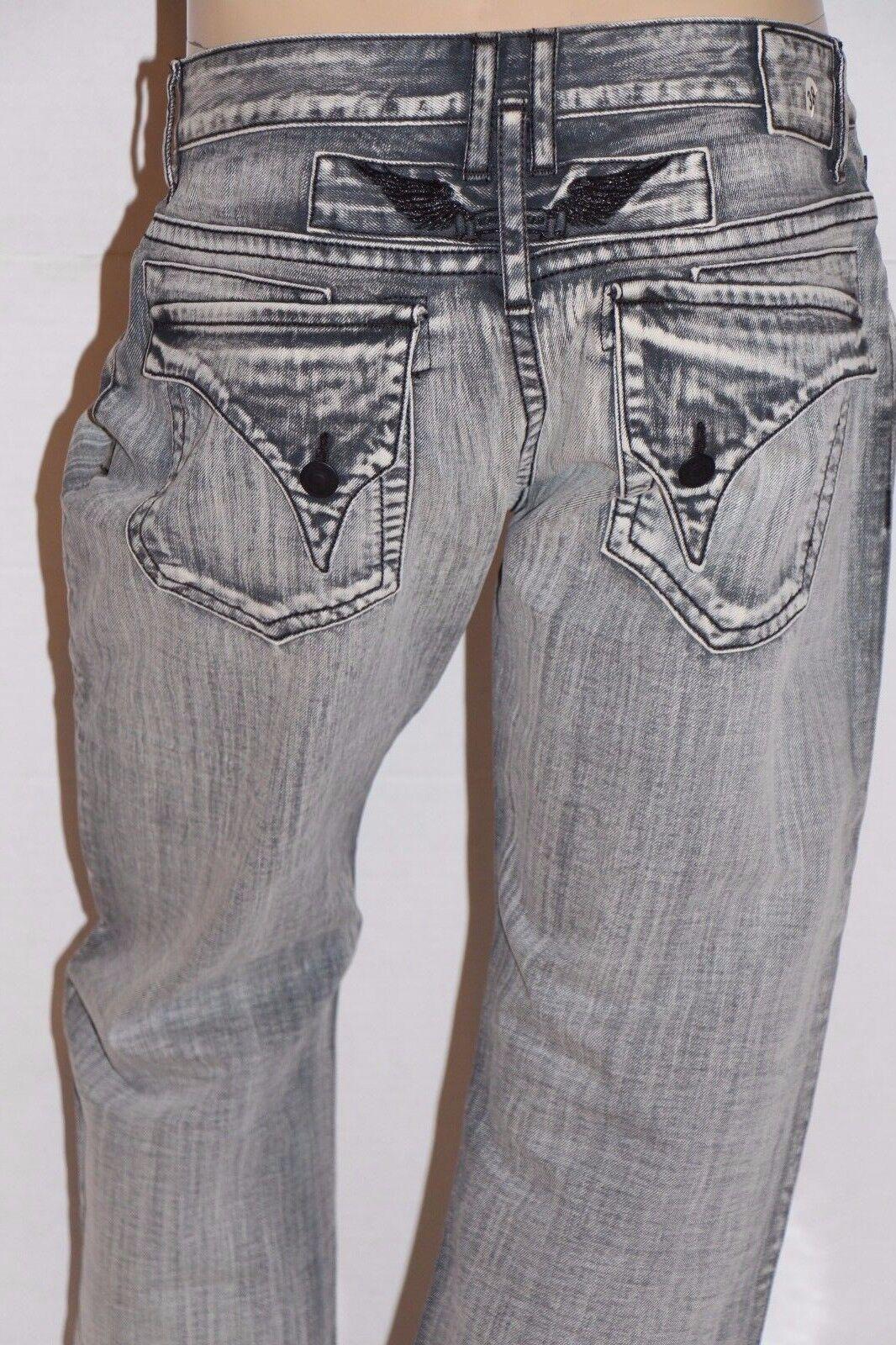Neu Herren ROTKEHLCHEN Jeans Größe 38  D5696 Lang Überschlag - Gerade Bein Jeans