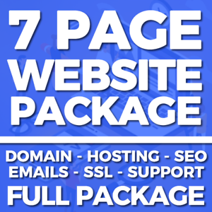 7-Page-Website-Web-Design-Service-Domain-Hosting-SSL-Business-or-Personal