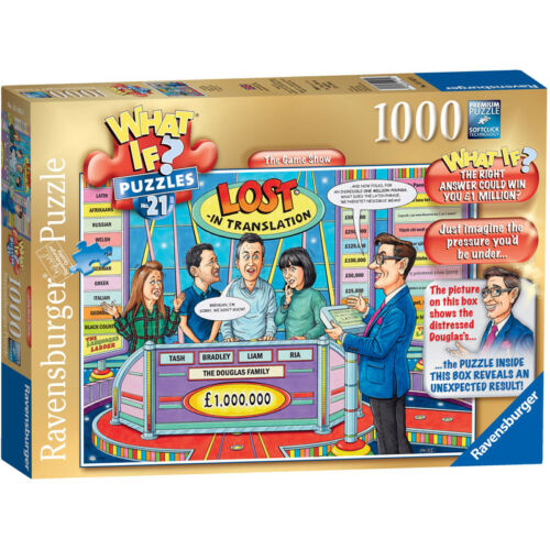 Ravensburger What If #21 The Game Show 1000 Piece Jigsaw Puzzle