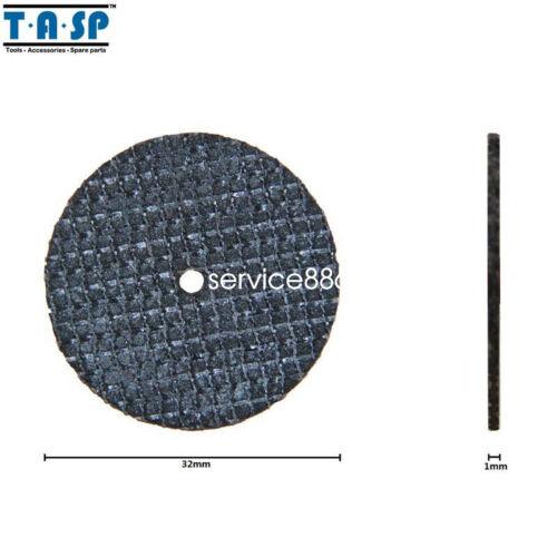 50PC Fiberglass Cutting Disc for Dremel Rotary Tool with 4 Mandrel