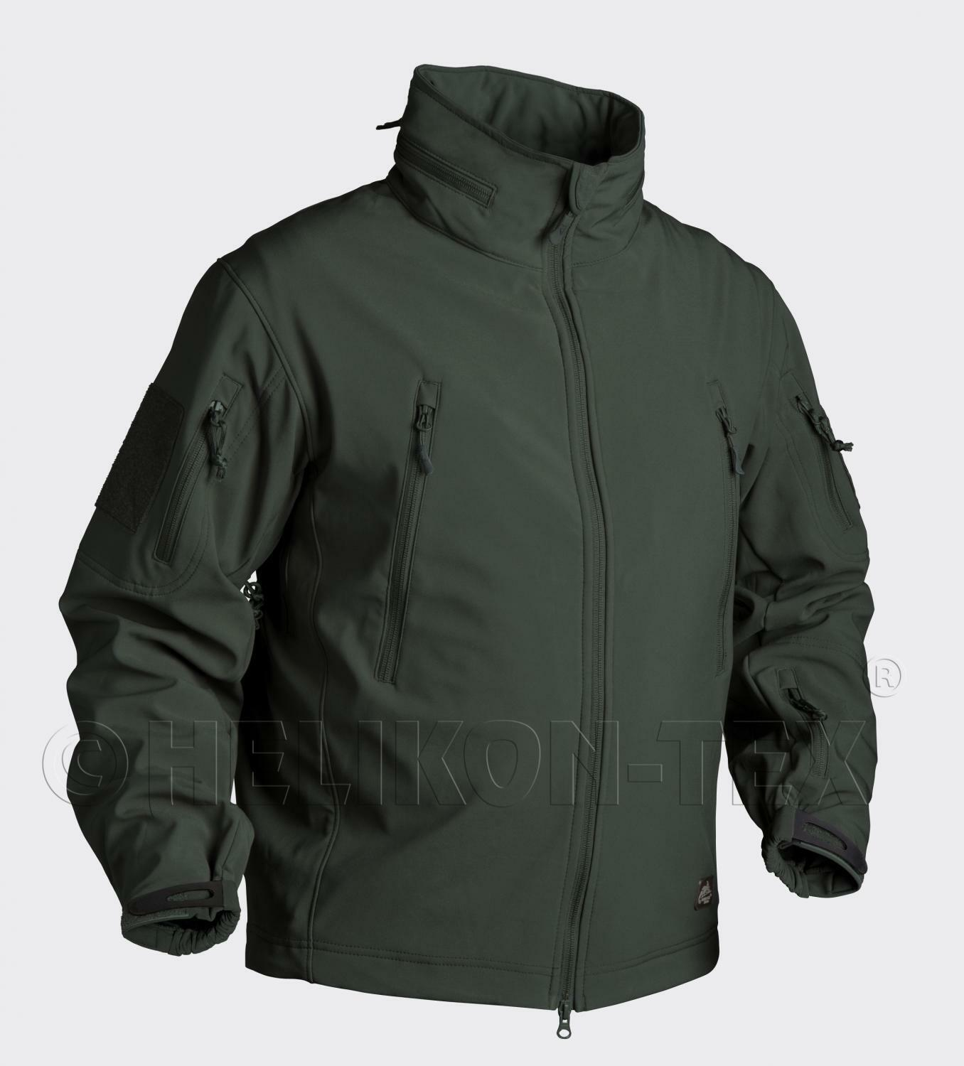 Helikon TEX pistolero Outdoor Softshell Giacca Giacca Giacca in pile JUNGLE verde SSmtutti eae