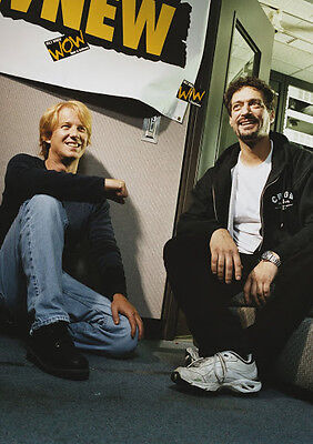 CANVAS Gregg Opie Hughes and Anthony Cumia 2 Art print POSTER