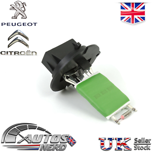 Heater-Blower-Motor-Resistor-Peugeot-307-307cc-206-206cc-Citroen-C3-6450JP