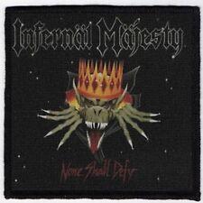 INFERNAL MAJESTY PATCH / SPEED-THRASH-BLACK-DEATH METAL