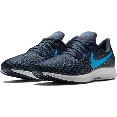 Dettagli su Scarpe running uomo Nike Air Zoom Pegasus 35 942851 401 Blu Celeste mesh