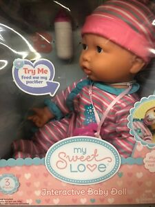 2778bf3a9a8f Image is loading My-sweet-love-3-piece-interactive-baby-doll-