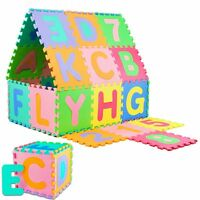 86-tlg Spielmatte Spielteppich Puzzlematte Kinderteppich Schaumstoffmatte Matte