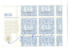 Australia-Treasures-New South Wales mnh sheet (2555) 2005-famous stamps