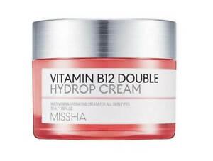 MISSHA-VITAMIN-B12-Double-Hydrop-Cream-50ml-Scars-Acne-Sunspots-UK