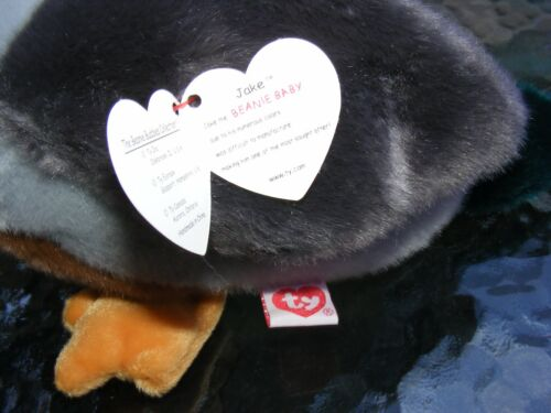 "Beanie Buddy Original Mallard Duck Large 10/"" BEANIE BABY JAKE"