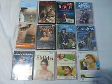 12x Job Lot Classic Films Jane Austin BBC Shakespeare Charles Dickens Movies Set