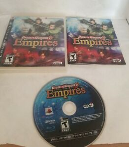 Dynasty-Warriors-6-Empires-Sony-PlayStation-3-2009-Complete-PS3-Game-CIB