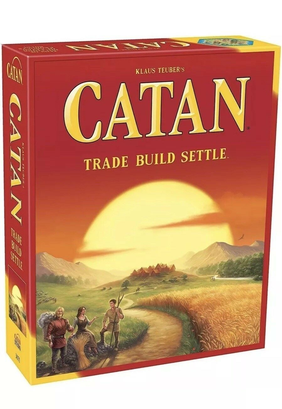 Catan 5th edition kernsatz familie brettspiel - free shipping