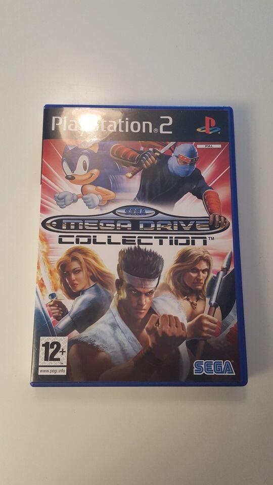 Sega Mega drive collection, PS2