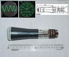 "5LO38I (5ЛО38И) small ""2"" vintage Russian Oscilloscope Green Electrostatic CRT"