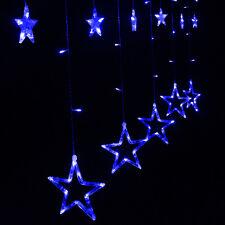 2M 138 LED Curtain Star String Fairy Light Christmas Decoration LED Light