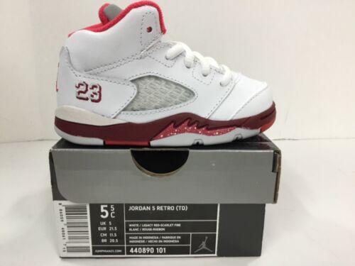 Style#440890-101 TD Jordan 5 Retro