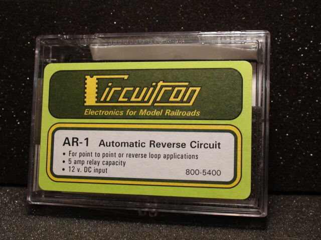 circuitron tortoise 800-5400 ar-1 automatic reverse circuit  bigdiscounttrains