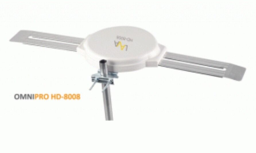 HD-8008 moormarketplacenj LAVA HD-8008 360 DEGREES HDTV DIGITAL AMPLIFIED OUTDOOR TV ANTENNA HD VHF/UHF